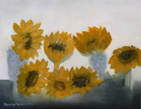 Detail: Sunflowers